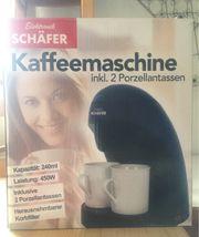 Kaffeemaschine Elektro Schäfer neu