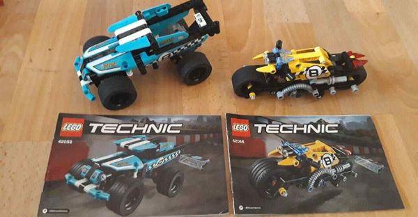 Lego Technic 42058 42059 mit