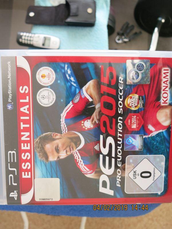 PS3 PES 2015 Pro Evolution