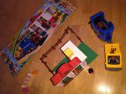 Lego Duplo Pferdeanhänger und Stall
