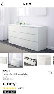 Ikea malm kommoden 2 Stück