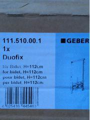 Geberit Duofix für Bidet