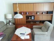 Wohnzimmerschrank Sofa Couch Sessel Tisch