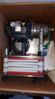 Filteranlage für diverse Flüssigkeiten