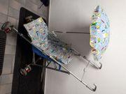 Chicco Kinderbuggy verstellbar mit Sonnenschirm
