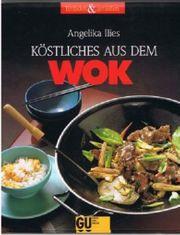 3 Wok-Gerichte Bücher