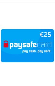 Paysafe card 25EUR