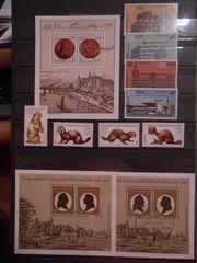 Briefmarken Sammlung DDR - BRD