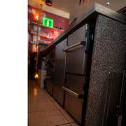 Theke-Thekenkühlung-Spülbecken-Cocktailbar-Kühlschrank-Barkühltisch-Zapfanlage