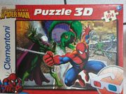 Spider-Man 3D Puzzle mit 3D