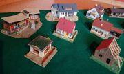 Konvolut Häuser für Modellbahn Faller