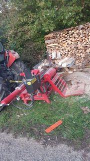 Brennholz Lohnspalten