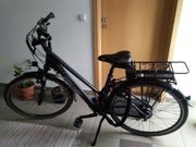 Damen Trekking E Bike 28