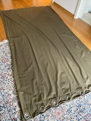 2 Ikea khakifarbene Vorhänge