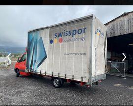 Mercedes Sprinter: Kleinanzeigen aus Buchs SG - Rubrik Kleinbusse, -transporter
