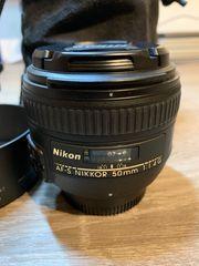 Nikon Objektiv AF-S NIKKOR 50mm