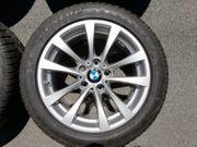 Originale BMW Alufelgen mit Winterreifen