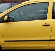 VW Fox 2007 Schlachtfest Frontscheibe