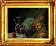 Antik-Gemälde JOSHUA BERING 1834 USA