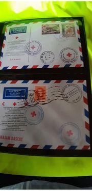 Rotkreuz Luftpostkonvolut