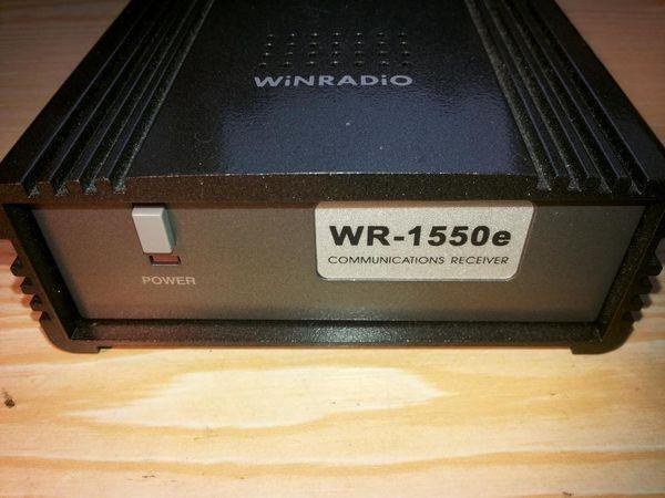 WinRadio WR-1550e Communications Receiver Empfänger