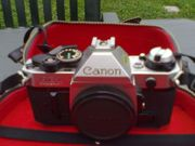Canon AE-1 analoge Spiegelreflexkamera
