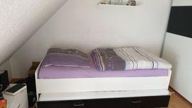 Auszieh Doppelbett: Kleinanzeigen aus Fürth Burgfarrnbach - Rubrik Betten