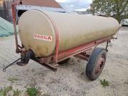 Wasserfass 2500 Liter dicht voll