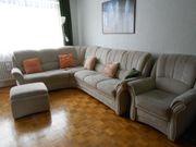 Couch Eckcouch Sessel und Hocker