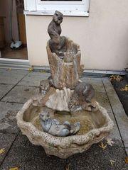 Springbrunnen Wasserlauf