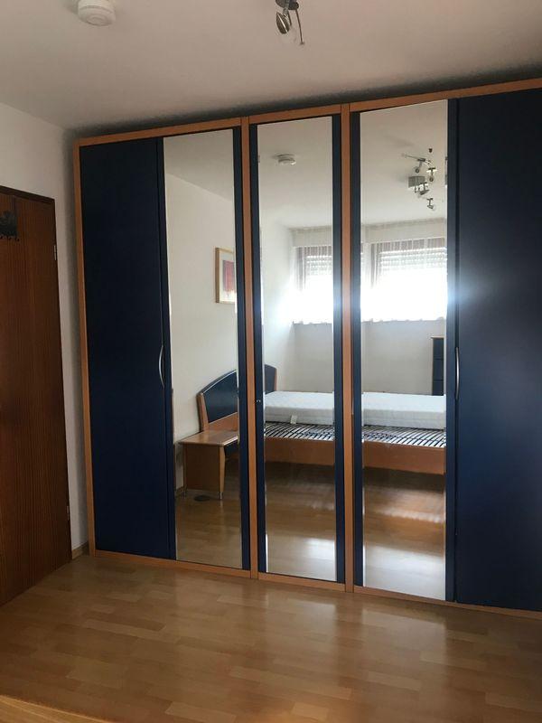Hülsta Schlafzimmerbett Anstellkonsolen und Kommode