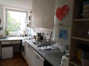 Gebrauchte Küche mit Kühlschrank Gefrierschrank
