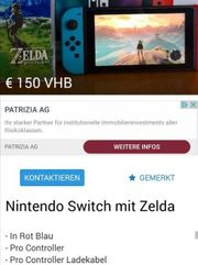 ACHTUNG BETRÜGER Switch Wii Playstation