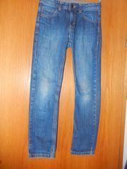 ESPRIT Mädchen Jeans blau verstellbarer