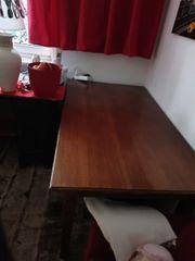 Esstisch mit Schublade 170 x70