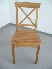 Ikea Stuhl Ingolf Antikbeize 4