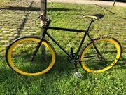 Fahrrad Rennrad Herrenfahrrad Fixiebike
