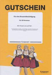 Gutschein Brauerei Frastanzer