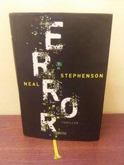 Buch Thriller ERROR Neal Stephenson