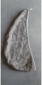 Haarturban Grau Frottee