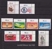Postfrische Berlin-Briefmarken 1 Halbjahr 1978