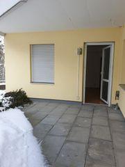 Helle 1-Zimmer-Wohnung mit Terrasse