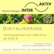 Digitalisierung von VHS-Kassetten Tonbandkassetten usw