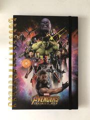 Notizbuch- Avengers Infinity War Merchandise