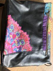 Desigual Tasche Umgängetasche Wie neu