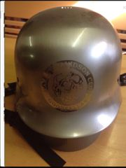 Helm mit Harley Davidson Logo