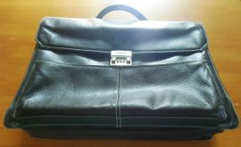 Taschen, Koffer, Accessoires - TOP - Lederaktentasche von BUGATTI in