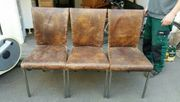 Echtleder Stühle