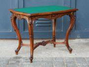 Tisch Wiener Barock Schreibtisch Nussbaum