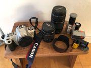 Canon EOS 300 Spiegelreflexkamera analog
